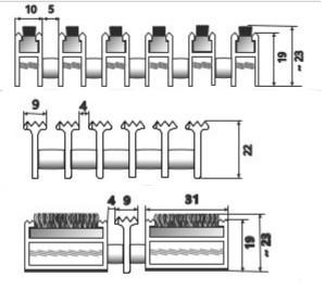 szkic Wycieraczki systemowe Typ D3