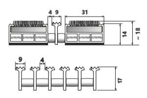 szkic Wycieraczki systemowe Typ C9