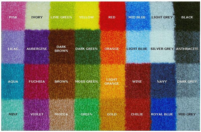 kolory logomat Maty tekstylne Medium