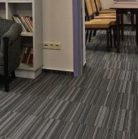 Wykładziny hotelowe - Płytki dywanowe