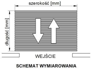schemat wymiarowania -typ a2