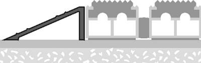 szkic montażu wycieraczek systemowych aluminiowych - wariant drugi