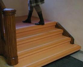 wykładzinaPCV schody woLSZTYN1409